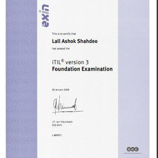 AXIN ITIL V3 Foundation