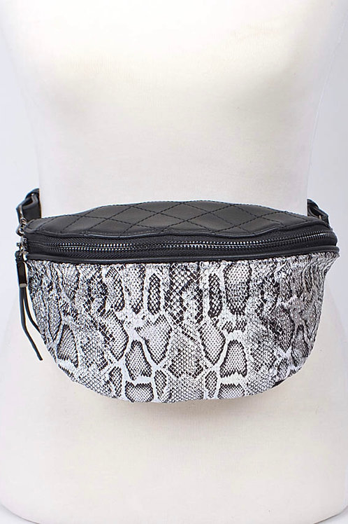 Silver Cobra Fanny Pack