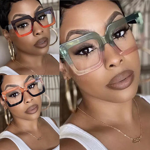 Double Color Life Glasses