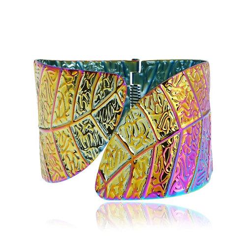 Rainbow Cuffs (Matching Choker)