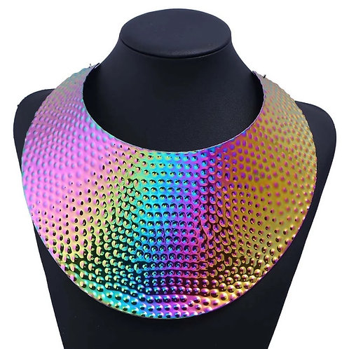Her Rainbow Shield (Metal Cuffs are available)