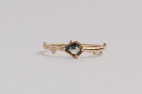 """""""Garden of Eden"""" Solid 9ct Gold & Sapphire Ring (MADE TO ORDER)"""