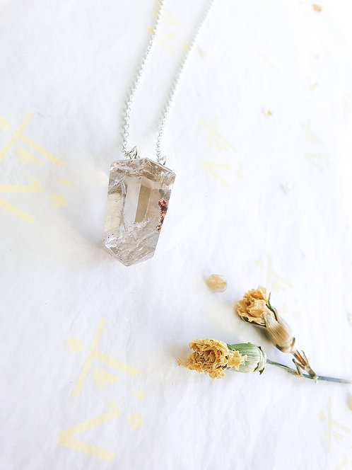 """""""Mini Gift"""" Smokey Quartz Necklace"""