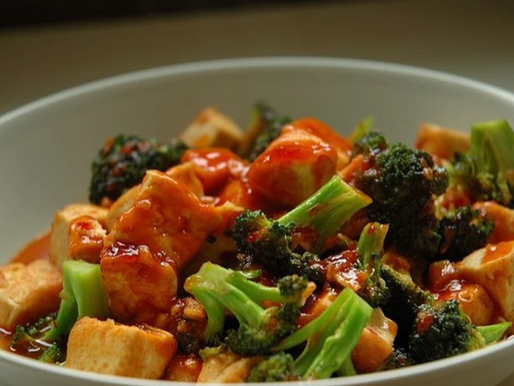 Vegan Asian Tofu Stir-Fry