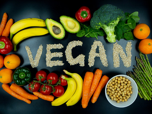 5 Reasons to Go Vegan right now!