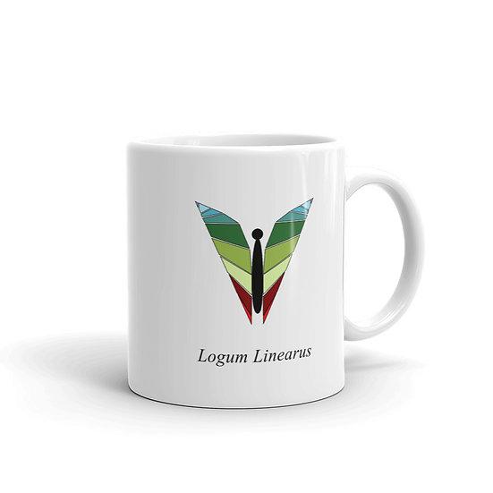 Datavizbutterfly - Lineum Plotus - Mug