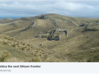ARGENTINA THE NEXT LITHIUM FRONTIER