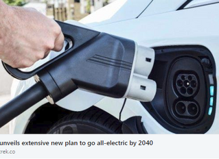 UK UNVEILS EXTENSIVE NEW PLAN TO GO ALL-ELECTRIC BY 2040