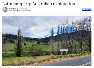 Latin ramps up Australian exploration