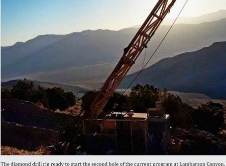 """""""OAR keen for assays from first diamond hole at project in golden state of Nevada"""""""