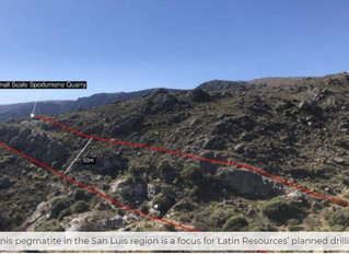 Latin Resources' agreement another step on path towards drilling Argentine lithium projects