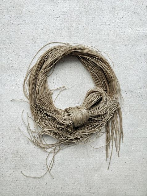 Vintage linen yarn