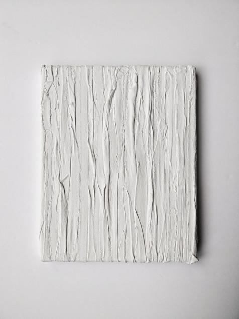 Inhale 5, Acrylic, fabric, canvas 2018 2