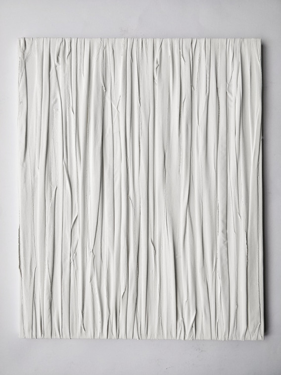 Flowing 1 Acrylic, fabric, canvas 2018 4