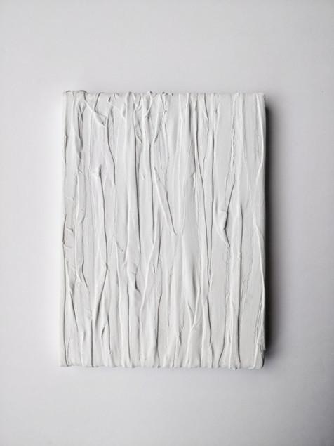 Inhale 4, Acrylic, fabric, canvas 2018 1