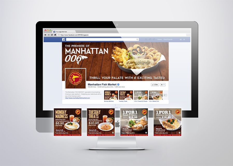 Manhattan Fish Market, MFM, Manhattan Fish Market Promotion, MFM, Manhattan Fish Market FaceBook