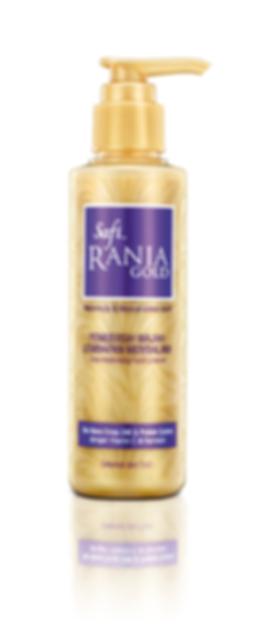 Safi Rania Gold, Halal Skincare, Gold, Halal Packaging, Safi Rania Gold Facial Cleanser, Facial Cleanser