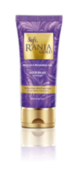 Safi Rania Gold, Halal Skincare, Gold, Halal Packaging, Safi Rania Gold Facial Scrub, Facial Scrub
