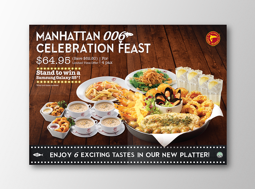 Manhattan Fish Market, MFM, Manhattan Fish Market Promotion, MFM, Manhattan Fish Market Voucher