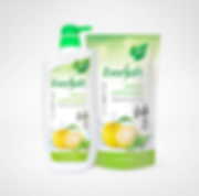 Eversoft, Eversoft Shower Foam, Yuzu, Mint, Pouch,Label, Packaging , Eversoft Yuzu