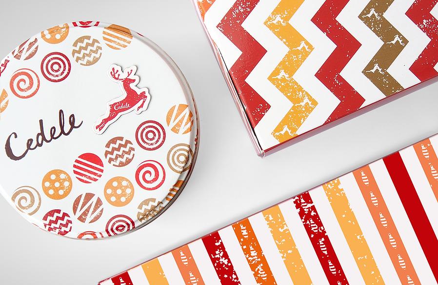 Cedele, Cedele Christmas, Cedele Christmas Packaging, Christmas Packaging