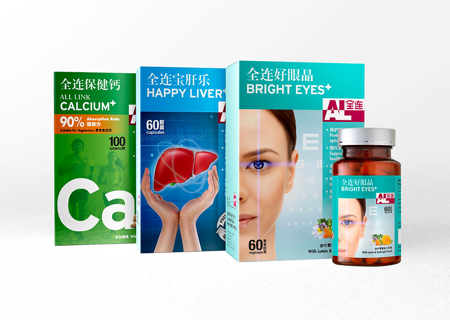 All Link, All Link Medical, All Link Packaging, Supplements Packaging, TCM Packaging