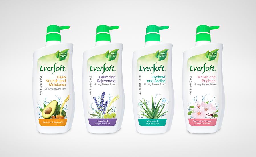 Eversoft, Eversoft Beauty, Eversoft Beauty Shower Foam