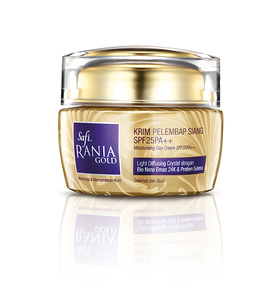 Safi Rania Gold, Halal Skincare, Gold, Halal Packaging, Safi Rania Gold Day Cream, Day Cream