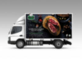 Lim Traders Truck, Truck Design, Vehicle Design, Vehicle Branding, Beef Photography, Food Photography