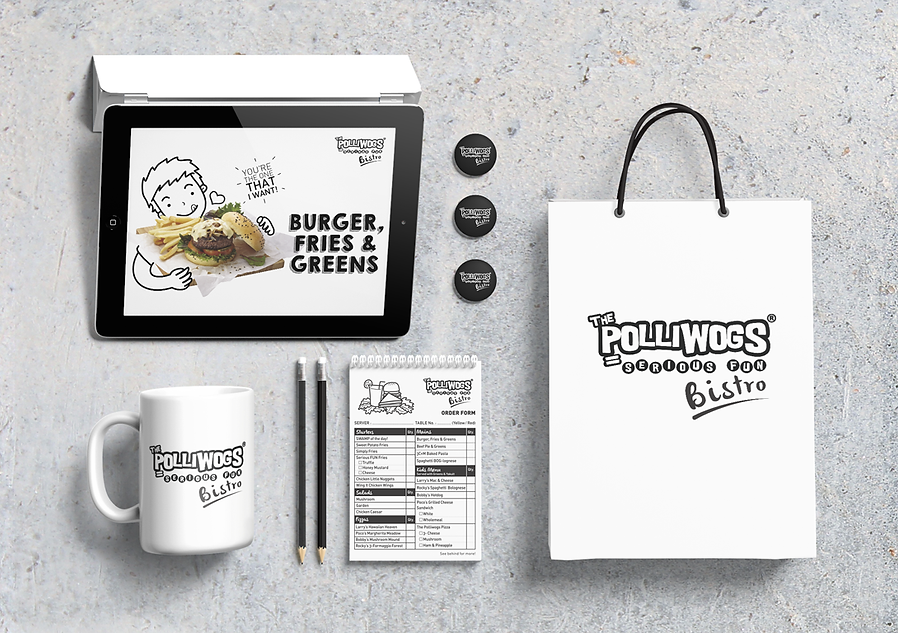 The Polliwogs, The Polliwogs Bistro