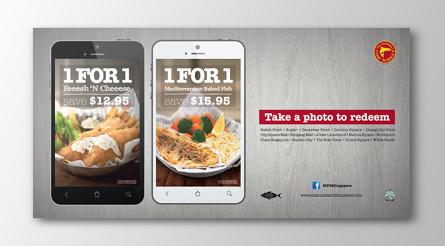 Manhattan Fish Market, MFM, Manhattan Fish Market Promotion, MFM, Manhattan Fish Market MRT Lightbox