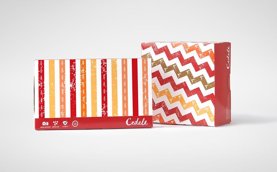 Cedele, Cedele Christmas, Cedele Christmas Packaging, Christmas Packaging, Cake Packaging