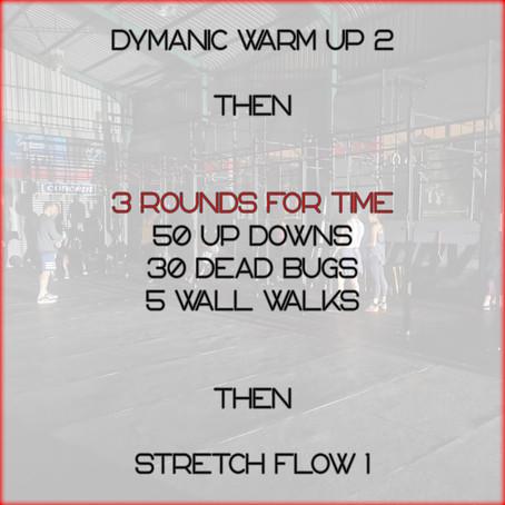 Daily Basic Workout 12/6/2020