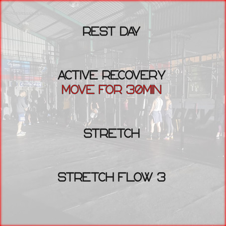 Daily Basic Workout 28/6/2020