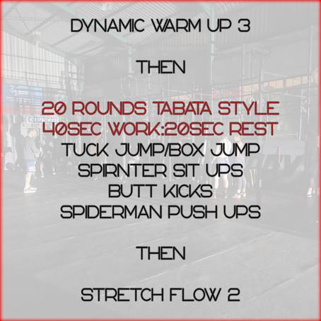 Daily Basic Workout 13/6/2020