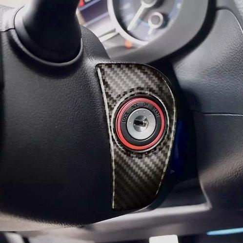 Subaru Carbon Fiber Ignition Key Trim