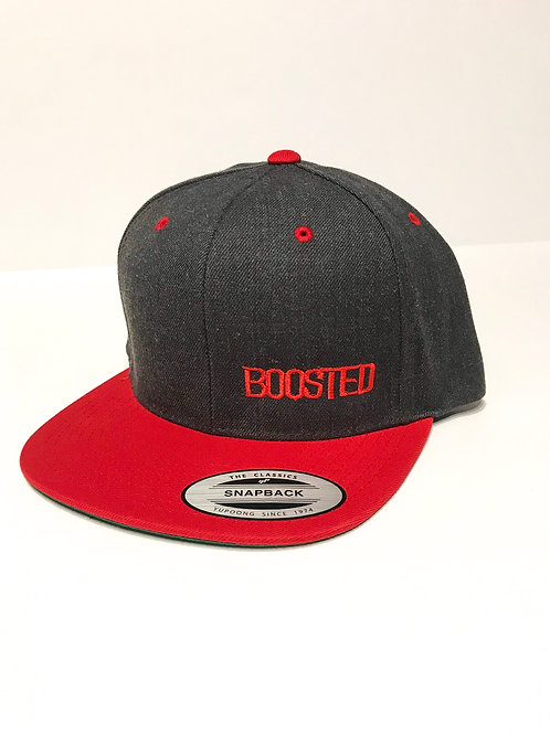 BOOSTED Flat Bill SnapBack