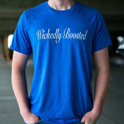 Wickedly Boosted Cursive T-shirt