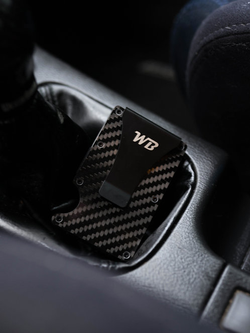 WB Carbon Fiber Minimalist Wallet
