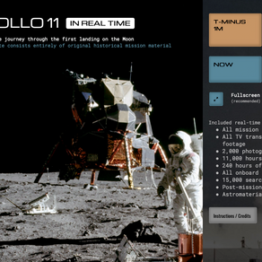 La missione dell'Apollo XI (tutta!)