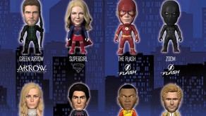 Brand new DC TV Hero TITANS vinyl collectibles launching this Fall