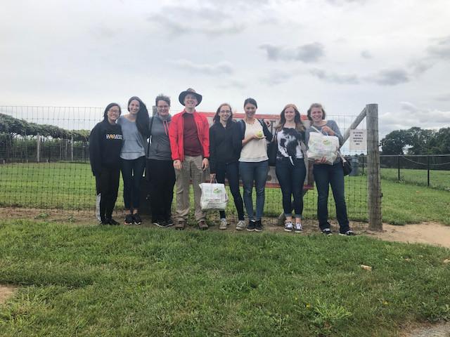 VKC Lab after a successful apple harvest