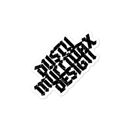 DUSTY MULLINAX DESIGN LOGO Bubble-free stickers