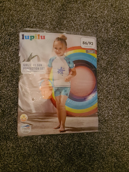 New - lidl swimsuit 12-24months