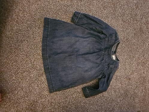 Next denim dress 9-12 months