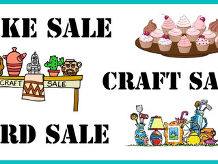 Cheney Care Center Bake and Craft Sale, Sessions Village Craft Sale