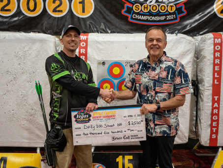 Bob Eylers Knocks Off Kyle Douglas in Day 2 Championship 300 Shoot-Off