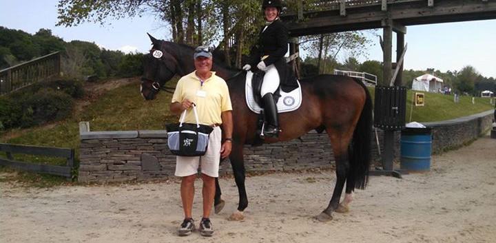 Clovis won the Mitchell Farm Senior Hors