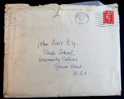 Addressed To John At The Slade 1951