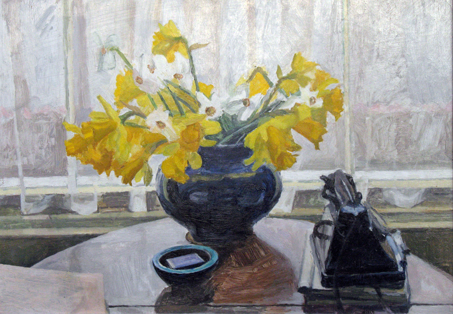 Daffodils And Telephone